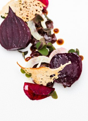 Paul Foster Malllory Court beetroot dish