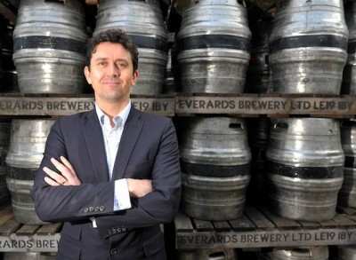 BUSINESS - Picture for Business magazine... Stephen Gould, trade/managing director at Everards Brewery, in Fosse Park, Enderby, Leicester 0116 2014307 or 07801 610940 Reporter - Tom Pegden PICTURE WILL JOHNSTON