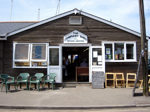 Is this the freshest seafood experience in the uk great for Best shed company
