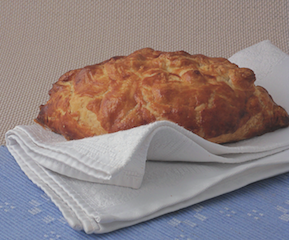 Lucy Cufflin's beef and Stilton pasty | Great Food Club