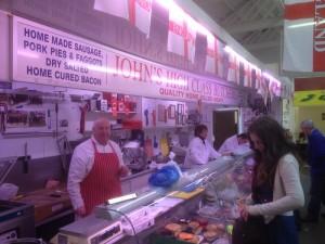 John's stall